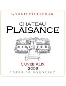 Château Plaisance - Alix 2010
