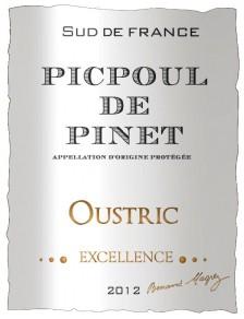 Oustric - Excellence Picpoul de Pinet 2013