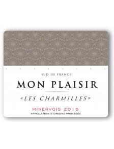 """Mon Plaisir - """"Les Charmilles"""" - Minervois 2015"""