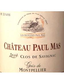 Château Paul Mas - Clos de Savignac 2014