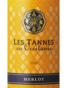 Les Tannes en Occitanie - Merlot 2015