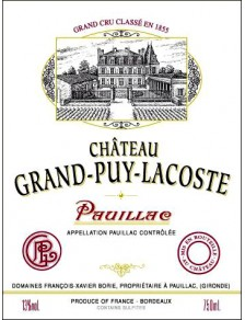 Château Grand Puy Lacoste 2007