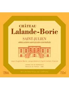 Château Lalande Borie 2013