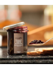 Confiture Cassis Noir de Bourgogne 230g