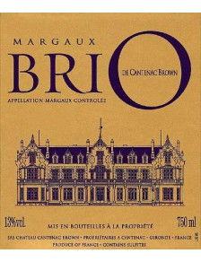BriO de Cantenac-Brown 2013