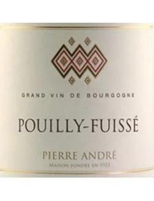 """Pierre André - Pouilly Fuissé """"Les Vieilles Pierres"""" 2015"""