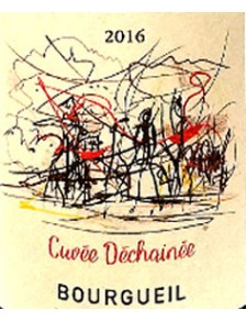 """Bourgueil - Cuvée """"Déchainée"""" 2016 37.5cl"""