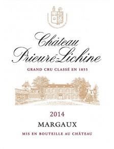 Château Prieuré Lichine 2014