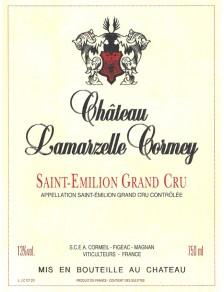 Château Lamarzelle Cormey Lucie 2015
