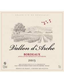 Vallon d'Arche - Bordeaux Rouge 2015