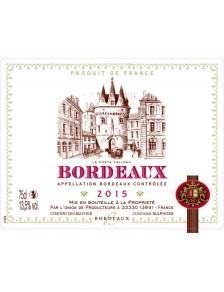La Porte Cailhau - Bordeaux Rouge 2015
