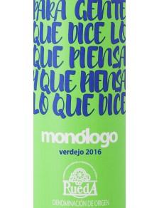 Monologo Verdejo - Rueda 2016