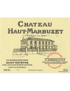 Château Haut Marbuzet 2012