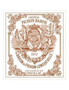 Château Pichon Longueville Baron 2012