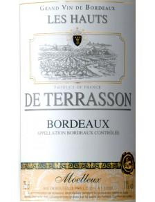 Les Hauts de Terrasson - Bordeaux Blanc Moelleux 2016