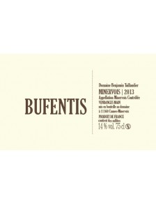Bufentis Minervois 2016 MAGNUM