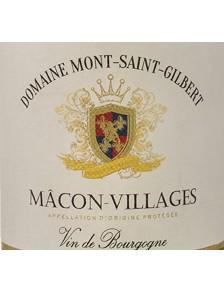 Dom. Mont St-Gilbert - Macon Villages Blanc 2016