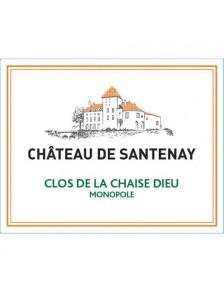 """Chât. de Santenay - Hautes Côtes de Beaune Blanc """"Clos de la Chaise Dieu"""" Monopole 2016"""