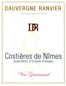 Costières de Nimes Rouge Vin Gourmand 2017
