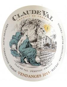 """Claude Val """"Fruité Blanc"""" 2017"""