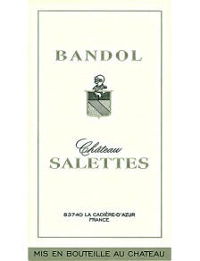 Château Salettes - Bandol Blanc 2017