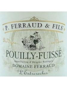 """P. Ferraud - Pouilly Fuissé """"L'Entreroches"""" 2017"""