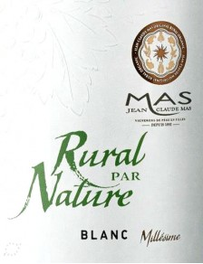 JC Mas Rural par Nature Blanc Bio 2018