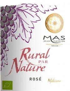 JC Mas Rural par Nature Rosé Bio Terra Vitis 2017