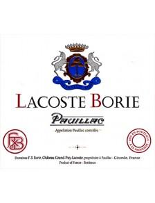Lacoste-Borie 2014