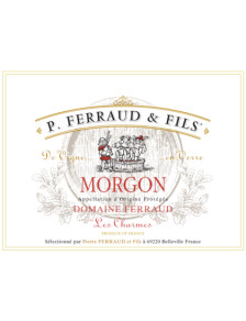 """P. Ferraud - Morgon """"Les Charmes"""" 2016"""