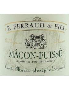 """P. Ferraud - Mâcon-Fuissé """"Cuvée Marie Josephe Ferraud """" 2018"""