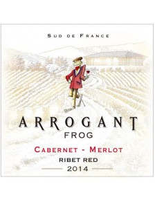 Paul Mas Arrogant Frog - Ribet Red (cabernet-merlot) Bio 2014 x6