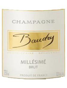 Champagne Baudry Brut Millésimé 2012