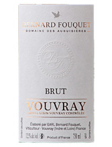 Fouquet - Vouvray Brut Méthode Traditionnelle
