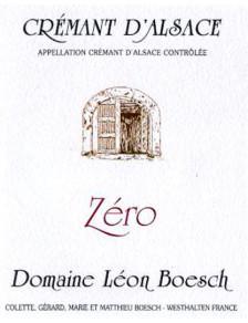 Crémant d'Alsace Brut - ZERO - Bio