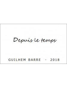 Depuis le Temps.... - VDF Blanc Languedoc Bio 2018