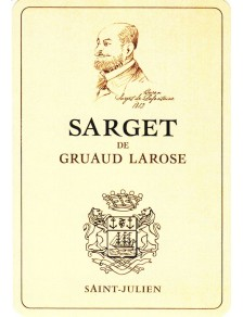 Sarget de Gruaud Larose 2015