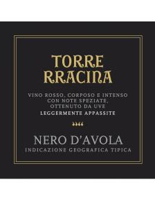Torre Rracina - Nero d'Avola Sicilia DOC (leger. appassite) 2019