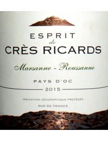 Esprit de Crès Ricards - Marsanne-Roussanne 2019