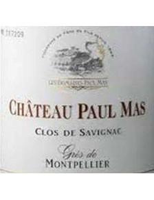 Château Paul Mas - Clos de Savignac 2018