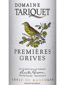 Tariquet - Premières Grives 2019