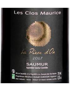 La Pièce d'Or - Saumur Rouge Bio  2019