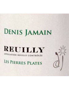 Denis Jamain - Reuilly Blanc - Les Pierres Plates 2019