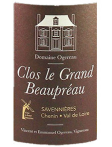 Clos Le Grand Beaupréau Savennières 2018