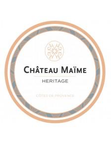 Château Maïme - Héritage Côtes de Provence Rosé 2019
