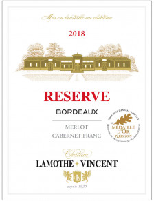 Château Lamothe-Vincent Réserve 2018