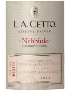 L.A. Cetto - Reserve Privada Nebbiolo 2014