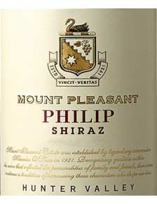 Mount Pleasant Philip Shiraz 2018