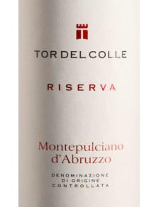 Tor del Colle - Montepulciano d'Abruzzo DOC Riserva 2018