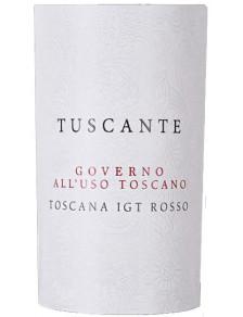"""Tuscante Rosso IGT Toscana """"Governo all'uso Toscano"""" 2018"""